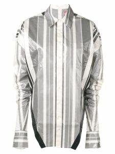 Diesel Red Tag striped metallic shirt - White