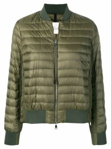 Moncler padded bomber jacket - Green