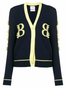 Barrie cashmere two-tone cardigan - Blue