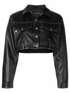 Manokhi short oversized jacket - Black