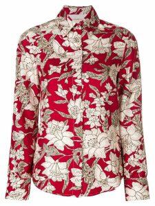La Doublej floral print shirt - Red