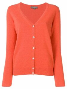 N.Peal v-neck cardigan - Orange