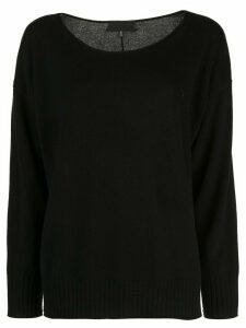 Nili Lotan classic cashmere sweater - Black