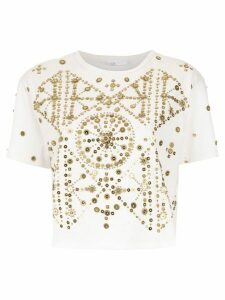 Nk embellished blouse - White