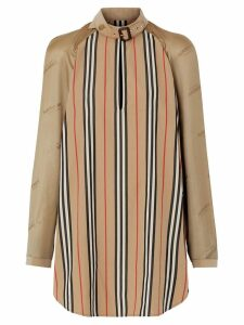 Burberry Icon Stripe blouse - NEUTRALS