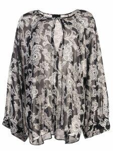 Nili Lotan paisley print blouse - Black