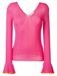 See By Chloé Fitted sweater - Pink