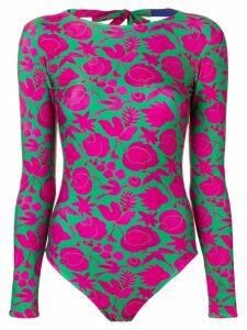 La Doublej surf bodysuit - Green