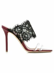 Malone Souliers Sanaa lace-panelled sandals - Black