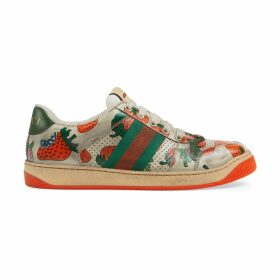 Women's Screener Gucci Strawberry sneaker