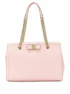 Salvatore Ferragamo Vara bow shopper bag - Pink