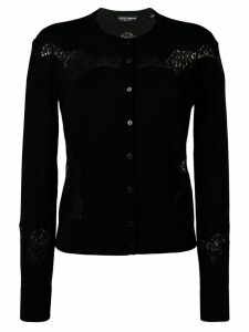 Dolce & Gabbana cut-out detail cardigan - Black