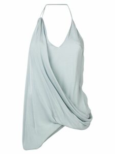 Jacquemus draped design top - Blue