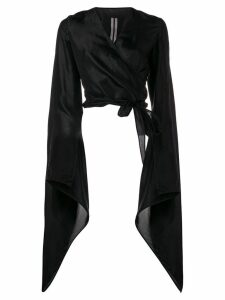 Rick Owens bat sleeve blouse - Black