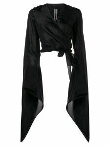 Rick Owens bat sleeve blouse - Black