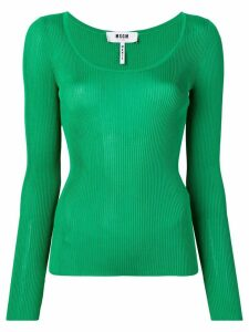 MSGM knitted top - Green
