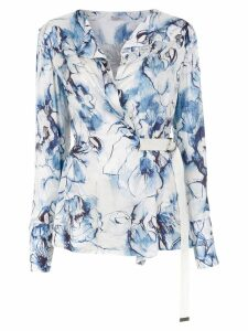Tufi Duek printed blouse - Blue
