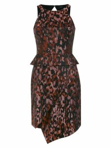 Tufi Duek jacquard dress - Black