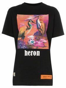 Heron Preston Heron printed T-shirt - Black