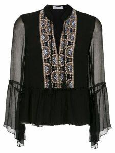 Nk silk blouse - Black