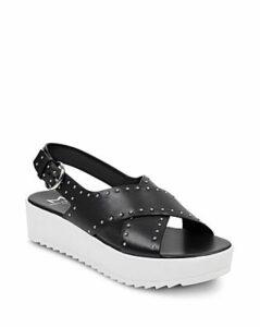 Marc Fisher Ltd. Women's Delilah Studded Suede Platform Sandals