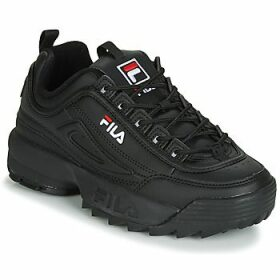 Fila  DISRUPTOR LOW WMN  women's Shoes (Trainers) in Black