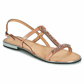 Geox  D SOZY PLUS  women's Sandals in Gold