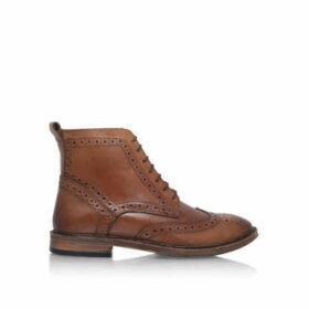 Kg Kurt Geiger Boston2 - Tan Lace Up Boots