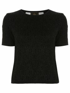 Fendi Pre-Owned short sleeve top - Black