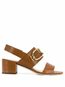 Tod's open toe sandals - Brown