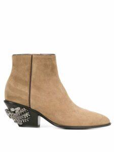 Giuseppe Zanotti Kevan boots - Neutrals