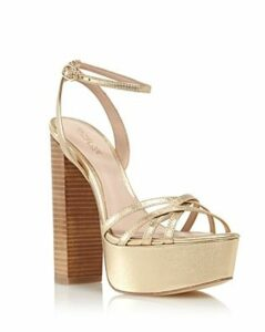 Rachel Zoe Women's Charlotte High-Heel Platform Sandals