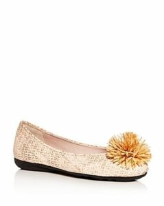 Paul Mayer Women's Blog Brighton Pom-Pom Ballet Flats