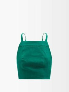 Haider Ackermann - Dali Shawl Collar Silk Blouse - Womens - Dark Blue