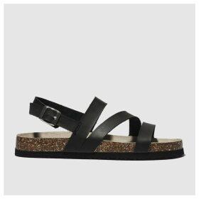 Schuh Black Aloha Sandals