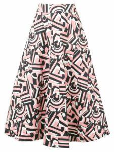 La Doublej Circle midi skirt - PINK