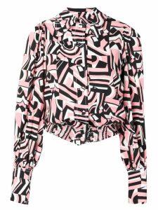 La Doublej Fever shirt - PINK