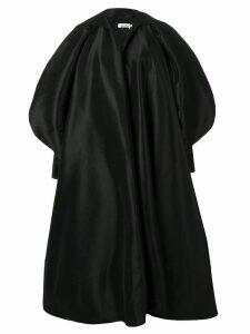 Richard Quinn puffball sleeve oversized coat - Black