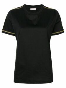 Moncler sleeve patch T-shirt - Black