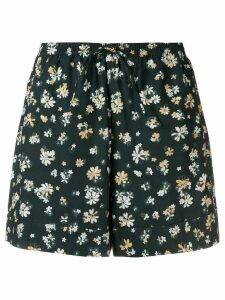 See By Chloé floral print shorts - Green