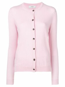 Pringle of Scotland classic cardigan - PINK