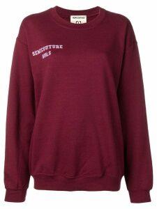 Semicouture 'Chiara' sweatshirt - Red
