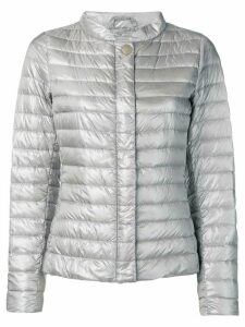Herno buttoned puffer jacket - Grey
