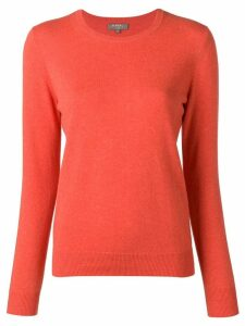N.Peal round neck jumper - Orange