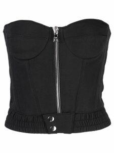 RtA strapless corset top - Black