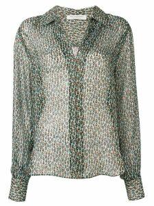 Philosophy Di Lorenzo Serafini leopard print blouse - Brown