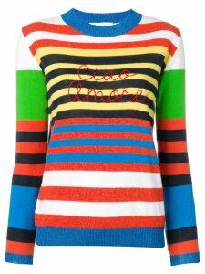 Giada Benincasa striped jumper - White