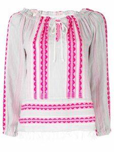 Lemlem drawstring blouse - Pink