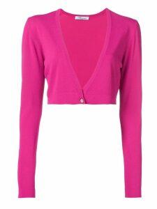 Blumarine cropped cardigan - Pink