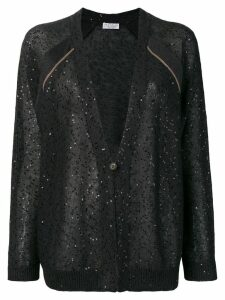 Brunello Cucinelli V-neck cardigan - Grey